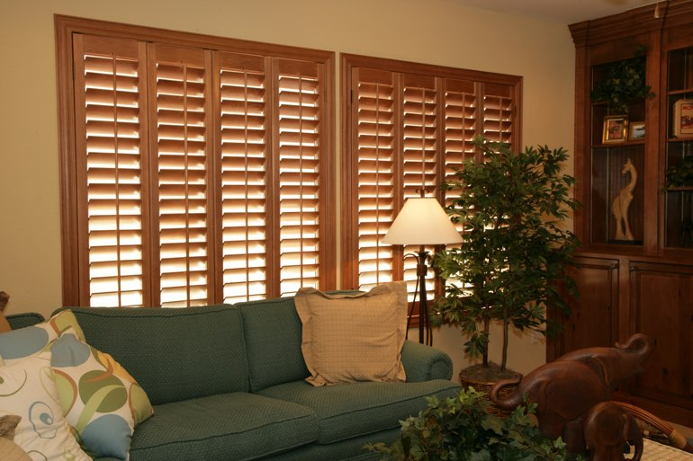 Ovation Shutters In A Fort Myers Living Room.